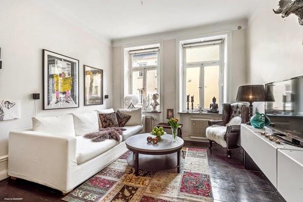 pomys na ekskluzywn kawalerk blog. Black Bedroom Furniture Sets. Home Design Ideas